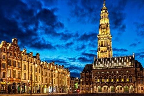 Lieux touristiques à visiter avec votre taxi à Arras