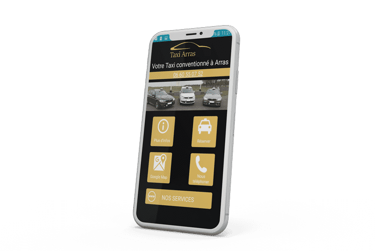 Application Android Taxi Arras